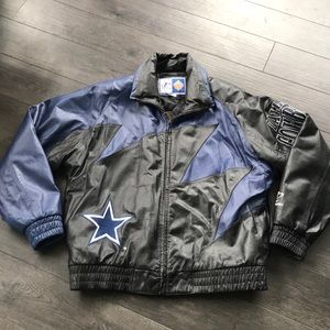 Dallas Cowboys Leather Coat